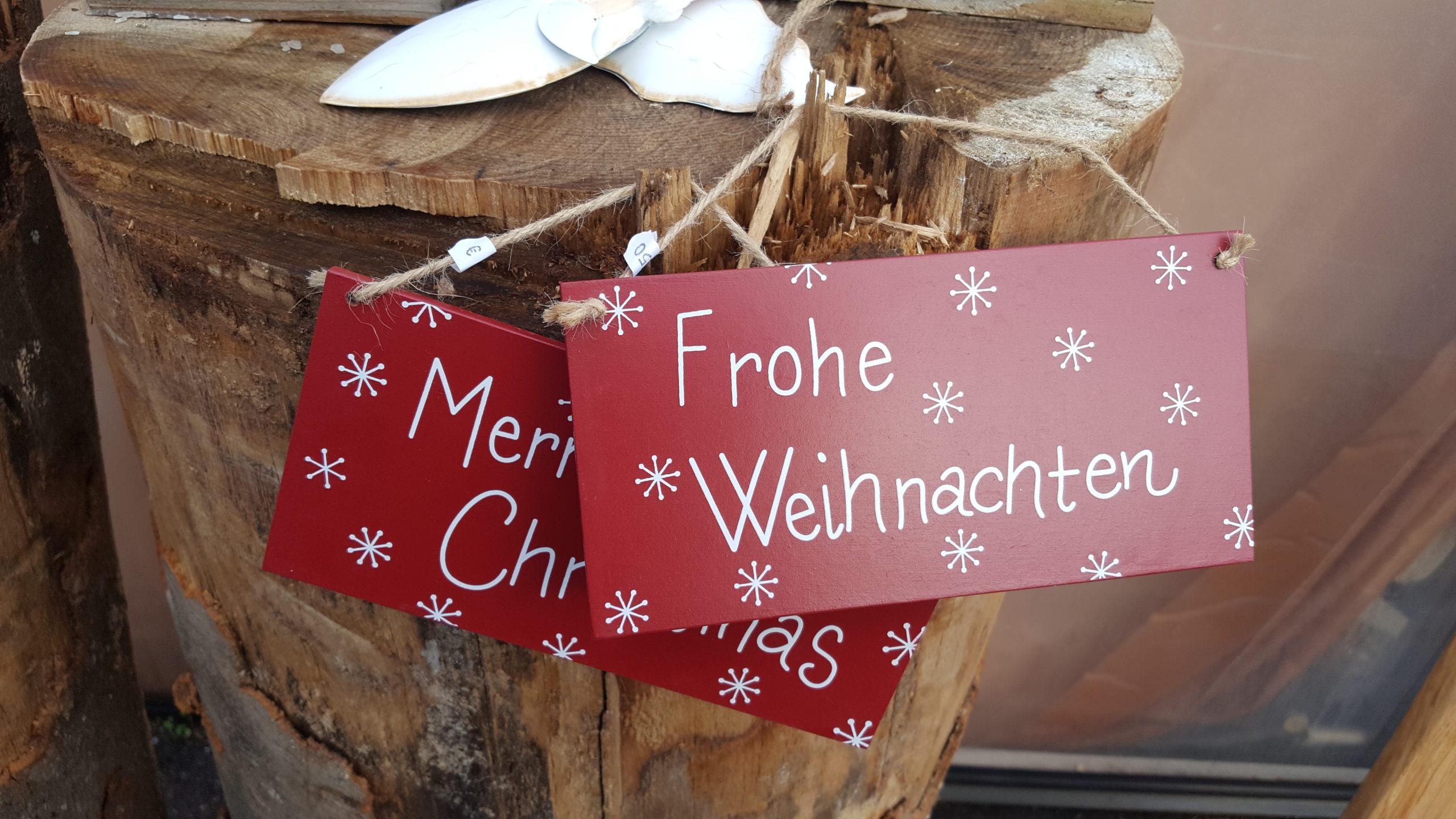 Motiv Frohe Weihnachten