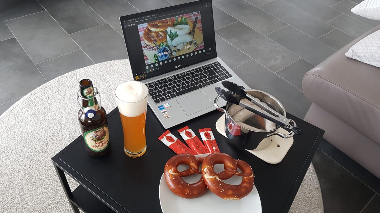 Online-Weißwurstfrühstück der Feuerwehr Rimpar